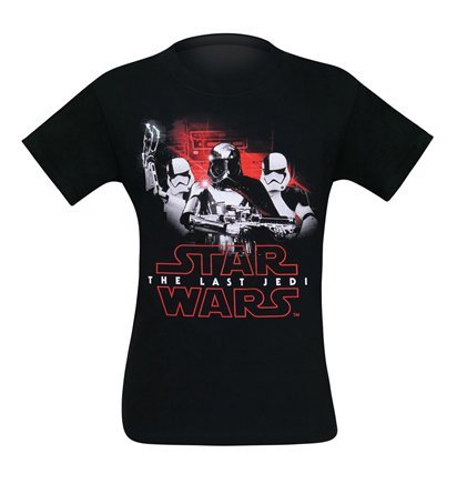 Star Wars Last Jedi Phasma & Troopers Men's