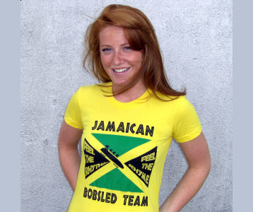 Cool Runnings Jamaican Bobsled t-shirt