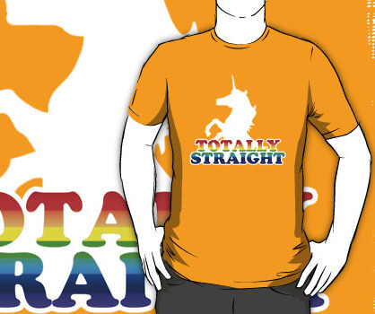 Johnny Knoxville Totally Straight Unicorn t-shirt