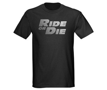 The Fast and the Furious Movie t-shirt – Vin Diesel Ride or Die tee