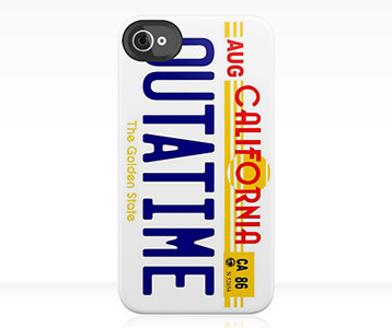 28f6f8ec94fe5a Back to the Future OUTATIME iPhone Case. 80s. Buy at RedBubble