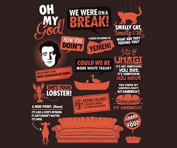 Friends TV Show T-Shirt – Friends Quotes Shirt