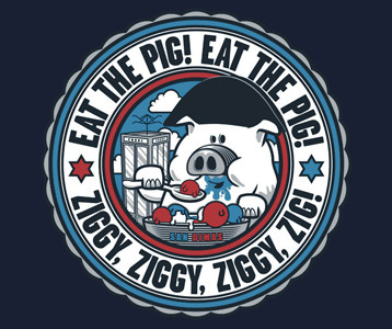 bill and ted ziggy pig t shirt bill and ted s excellent adventure