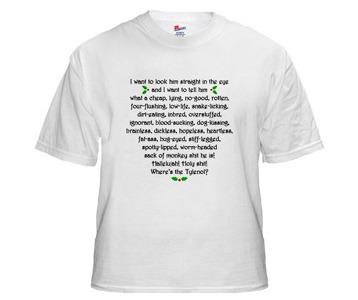 christmas vacation clark rant t shirt - Christmas Vacation Rant