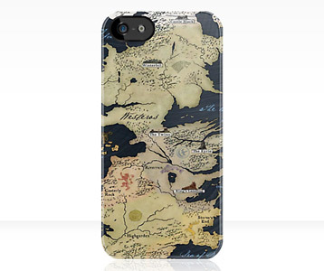 GAME OF THRONES MAP iphone case