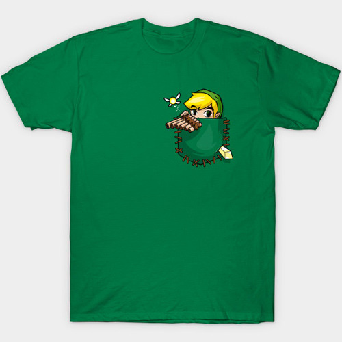 Legend of Zelda Pocket Link T-Shirt