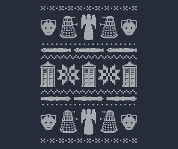 Doctor Who Christmas Sweater T Shirt Doctor Who Ugly Sweater Shirt