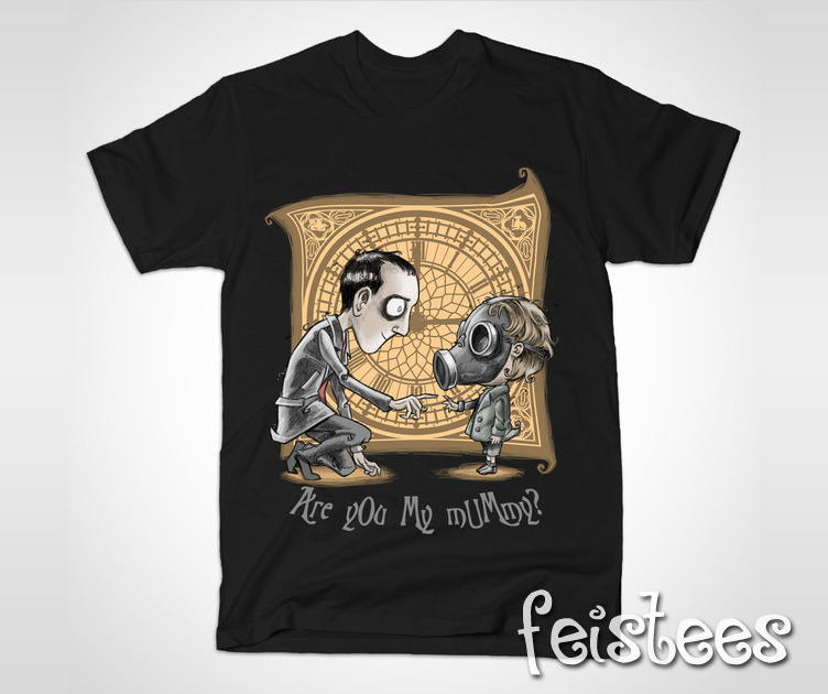 4fc9d9dbd Doctor Who Are You My Mummy T-Shirt - The Empty Child Shirt
