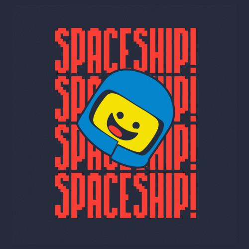 Lego Benny Spaceship T Shirt Lego Movie Quote