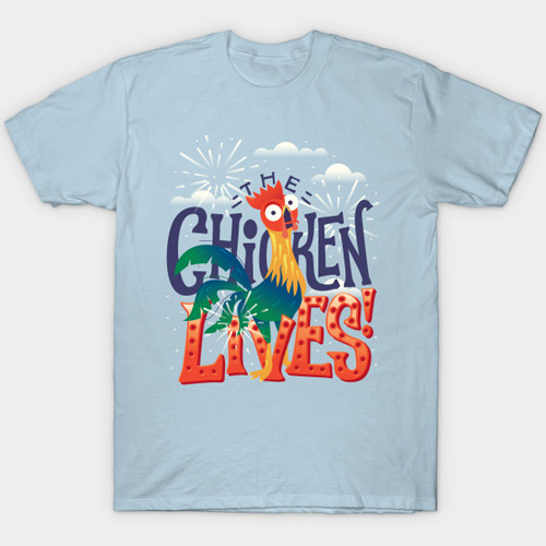 Moana Heihei The Chicken Lives T-Shirt