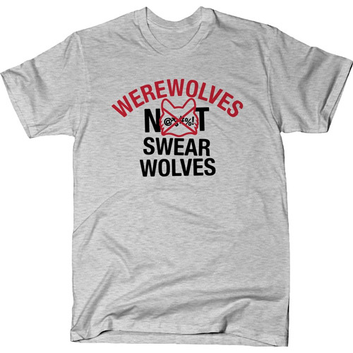 What We Do in the Shadows Werewolves Not Swearwolves T-Shirt
