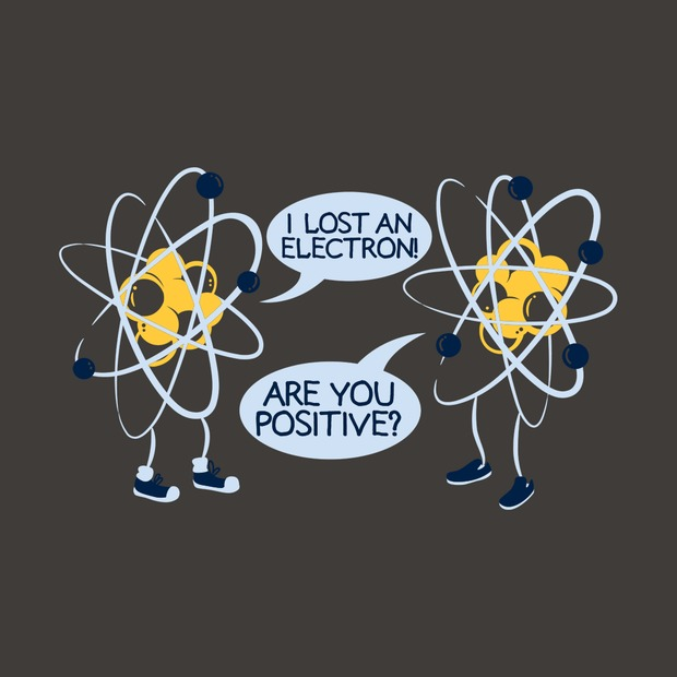 3502cc4a8 Funny I Lost an Electron Are You Positive T-Shirt. Science