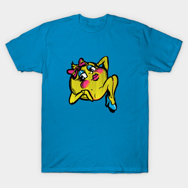 Ms. Pac-Man Pinup Girl T-Shirt