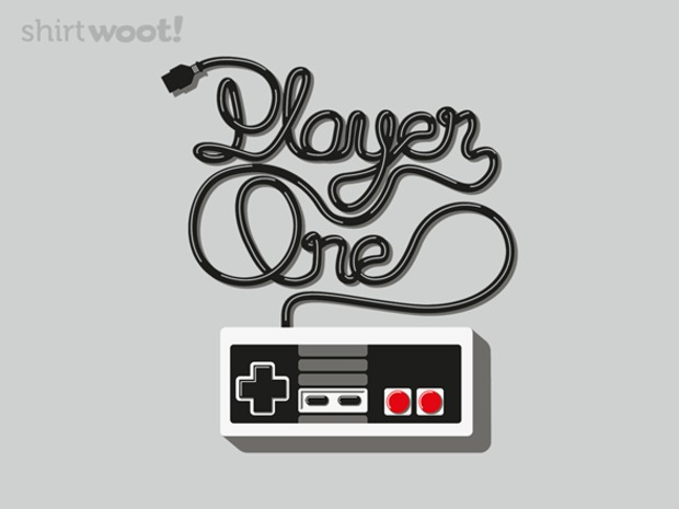 Player One and Player Two Gamer Couple T-Shirts