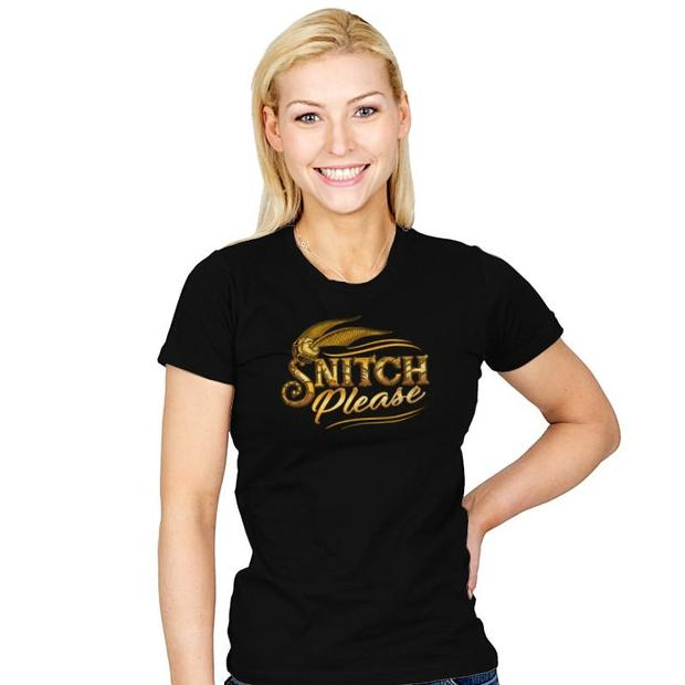 Snitch Please Harry Potter T-Shirt