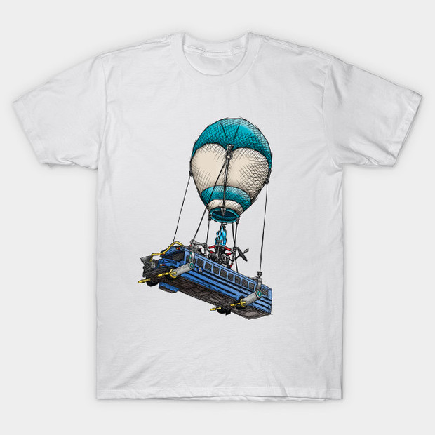 Fortnite Battle Bus T-Shirt