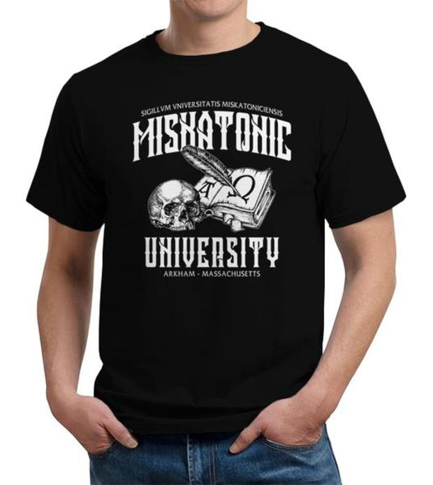 H. P. Lovecraft Miskatonic University T-Shirt