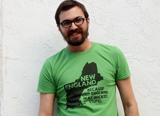 New England, Because Old England Was Wicked Stupid T-Shirt