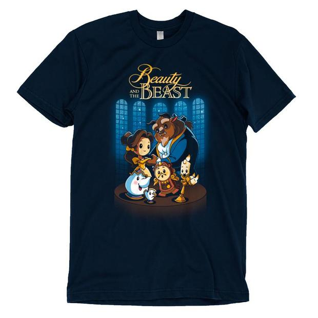 Official Disney Beauty and the Beast Characters T-Shirt
