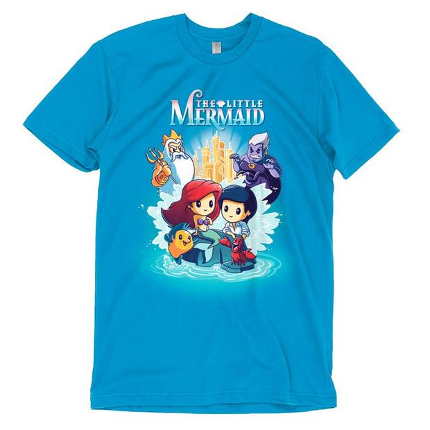 Official Disney The Little Mermaid Movie Poster T-Shirt