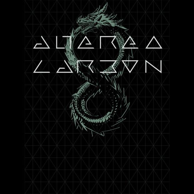 altered carbon dragon tattoo ouroboros t-shirt