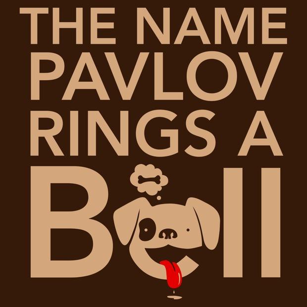 The Name Pavlov Rings a Bell T-Shirt - Funny Pavlov's Dog Shirt