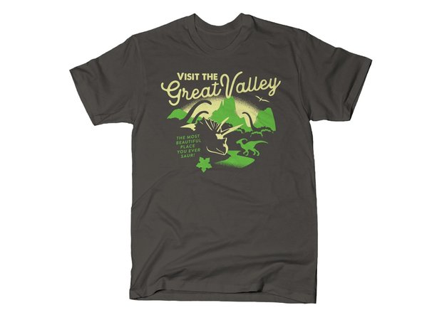 Visit The Great Valley Land Before Time T-Shirt