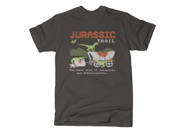 Jurassic Park Oregon Trail T-Shirt