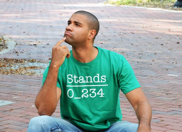 No 1 Under Stands T-Shirt - 0_234 Under the Word Stands Shirt