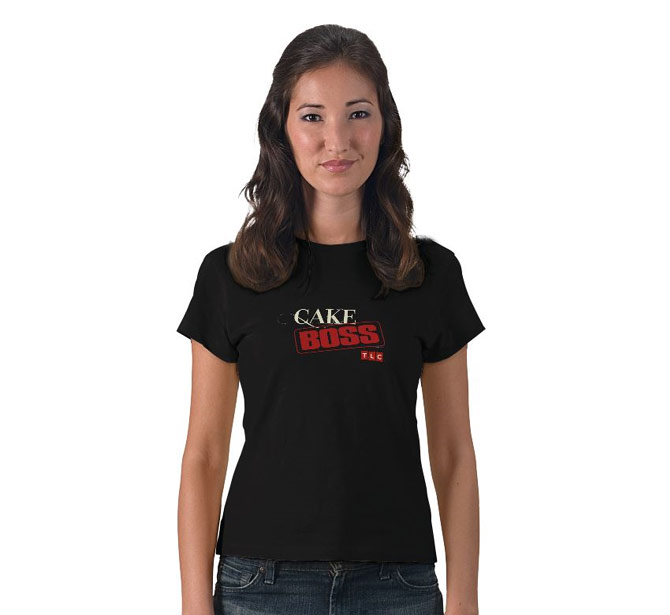 TLC Cake Boss Logo t-shirt