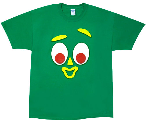 Gumby Costume Kids Gumby Costume T-shirt