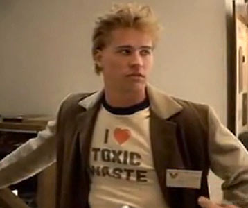 Real Genius I Love Toxic Waste t-shirt – Val Kilmer Real ...
