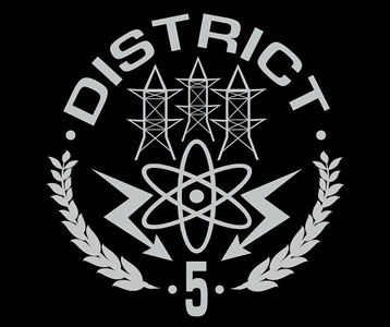 district 5 hunger games tshirt � power district