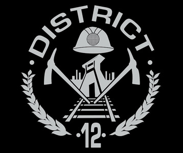 Hunger Games District 12 Sign Hunger Games District 12 Shirt