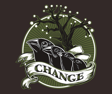 Darwin Tree of Life Galapagos Finches T-Shirt