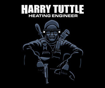 Harry Tuttle Brazil Movie T-Shirt