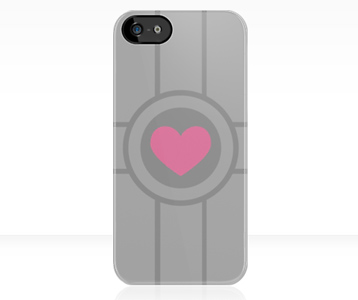 Portal Companion Cube iPhone Case