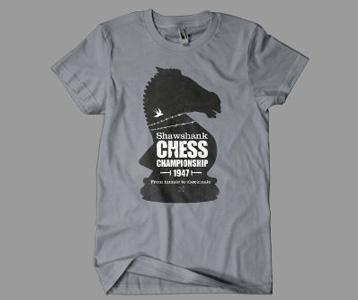 Shawshank Redemption T Shirt 1947 Chess Championship Tee
