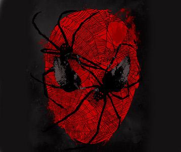 Spiderman Face Shirt – Scary Spiderman Crawly Eyes T-Shirt