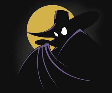 Darkwing Duck T-Shirt – Batman Parody Shirt