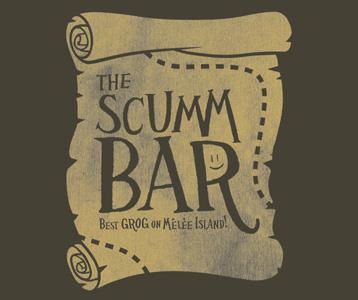 Monkey Island Shirt Scumm Bar