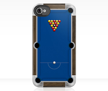 Pool Table iPhone Case