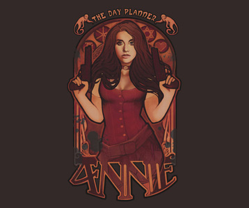 Community Annie Paintball T-Shirt