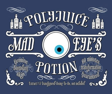 Mad Eye Moody's Polyjuice Potion T-Shirt