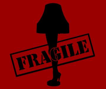 Leg Lamp FRAGILE T-Shirt – A Christmas Story Leg Lamp Shirt