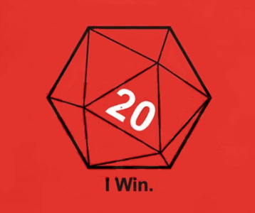 20 sided dice roll online movies