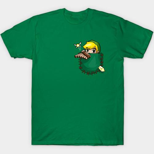 Zelda Pocket Link T-Shirt – Legend of Zelda Shirt