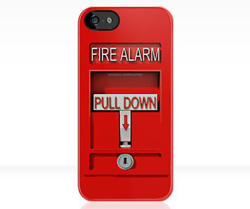Fire Alarm iPhone Case