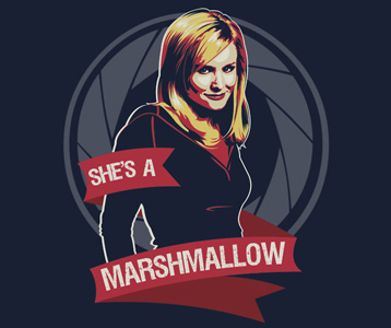 Veronica Mars Marshmallow T-Shirt