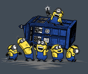 Minions Doctor Who T-Shirt